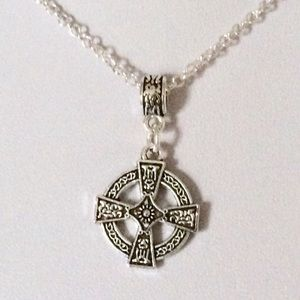 Jewelry - Celtic cross necklace